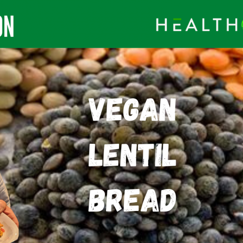 Vegan Lentil Bread low oxalate